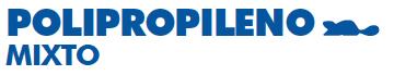 polipropileno-mixto